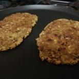 Bajra Ragi Hara Kanda Roti