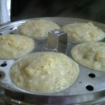 Idlis Hot off the Steamer