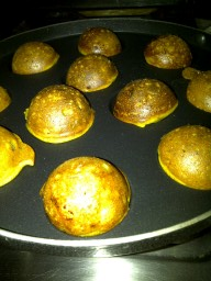 Paniyaram Cooking