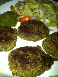Amaranth Seeds Fritters