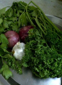 Base for Aromatic Bean Broth with Radish