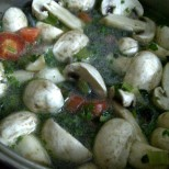 Chicken Noodle Vegetable Broth - Step 3 Add the Vegetables