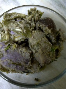 Cooked Panchkutiyu Shaak