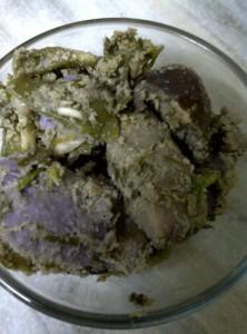 Cooked Panchkutiyu Shaak