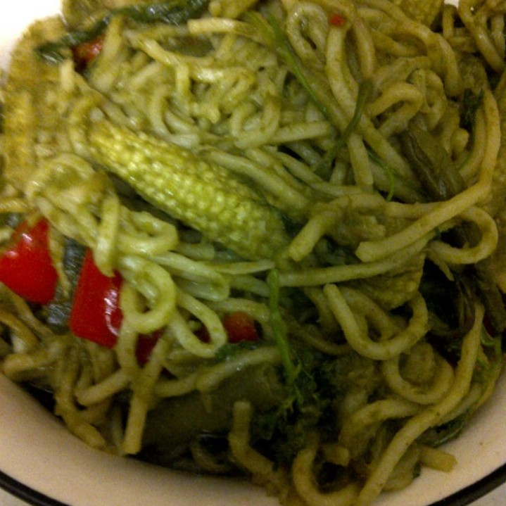 Green Noodles, The Indo-Chinese Way