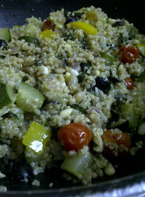 Quinoa, The Italian Way