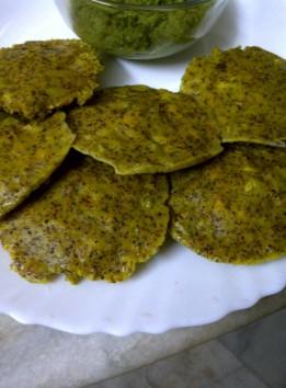 Rice Free Bajra and Ragi Idlis (Masala)
