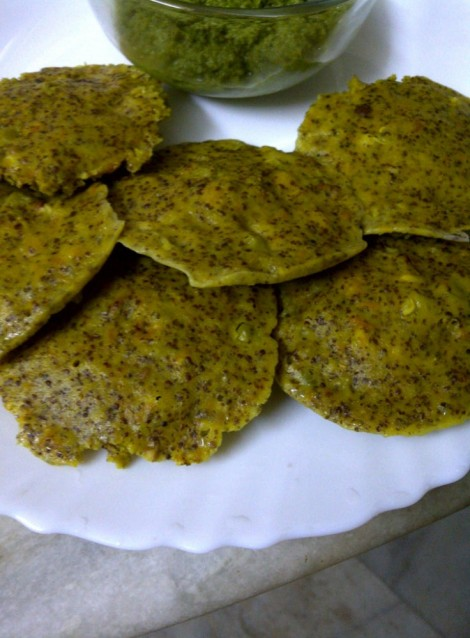 Rice Free Bajra and Ragi Idlis (Masala)