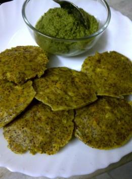 Rice Free Idli of Bajra (Pearl Millet) and Ragi (Finger Millet) Grains