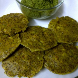 Rice Free Idli of Bajra (Pearl Millet) and Ragi (Finger Millet) Grains