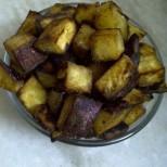 Sweet Potato Croutons