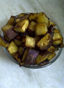 Sweet Potato Croutons
