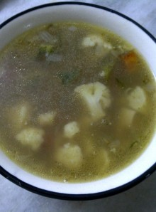 Vegetable and Pearl Millet Broth