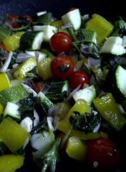 Vegetable Base for Quinoa