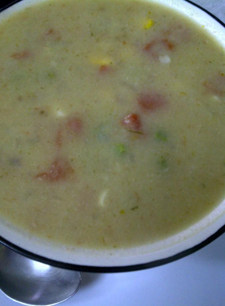 Velvety Cauliflower Soup