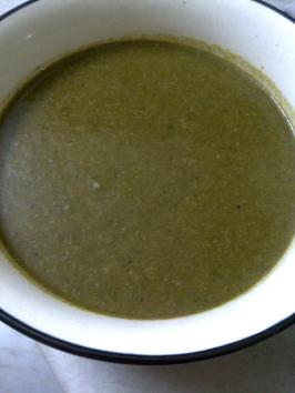 Fat Free Amaranth Leaves & Broccoli Soup