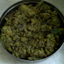 Panchkutiyu Shaak II/Seven Vegetables Cooked in Coriander, Coconut & Green Garlic