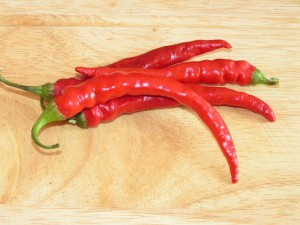 Red Chilli to Preserve Dry Staple Foods