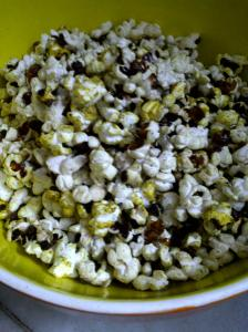 Spicy Popcorn, The Stovetop Way