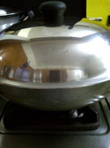 Wok Like Pan for Popcorn