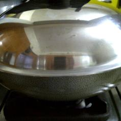 Wok Like Pan for Popcorn