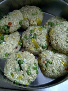 Salmon Fishcake With Oats & Quinoa Uncooked