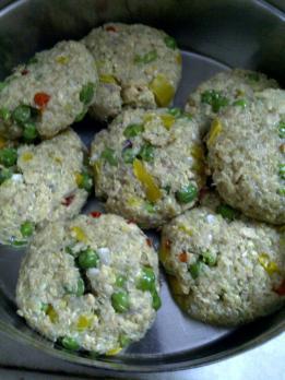 Salmon Fishcake With Oats & Quinoa Uncooked