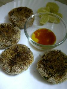Salmon Fishcake With Oats & Quinoa