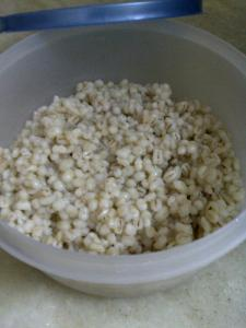 Cooked Pearl Barley