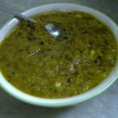 Jowar Dalia with Padwal & Pumpkin