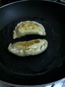 Making Samosa Pot Stickers 4