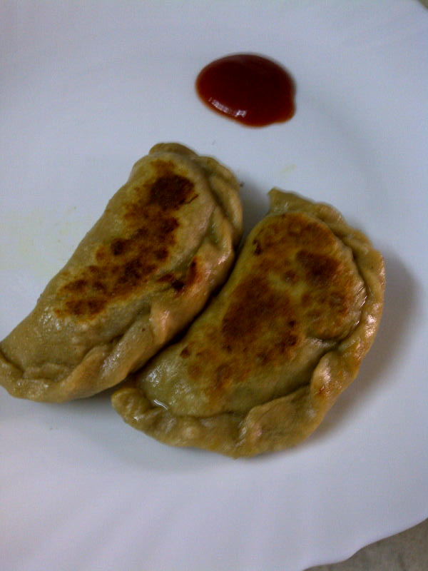 Samosa Pot Stickers