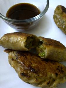 Samosa, The Pot Sticker Way