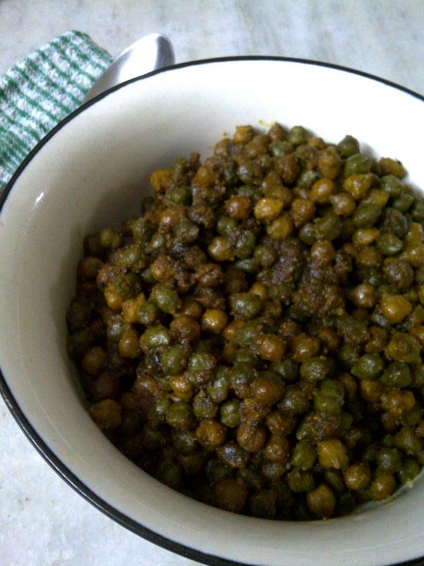 Desi Green & Brown Chana Stir-fry
