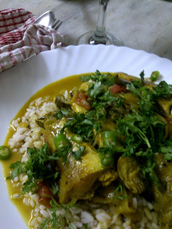 Fish Curry, The Kooky Way