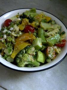 Guilt Free Pasta Salad