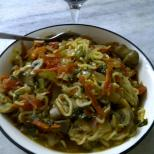 Healthy Maggi Noodles with Vegetables 2