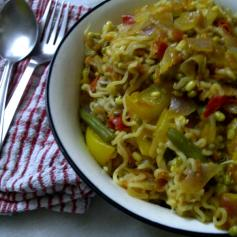 Healthy Maggi Noodles with Vegetables 3