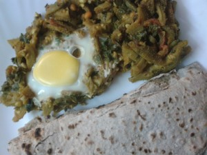 Kantola with Eggs, The Parsi Way