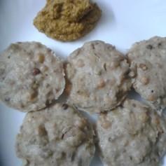 Mushroom & Mixed Sprouts Bajra Idli