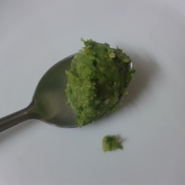 Green Chilli & Garlic Thecha (Condiment)