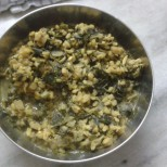 Moong Dal with Methi
